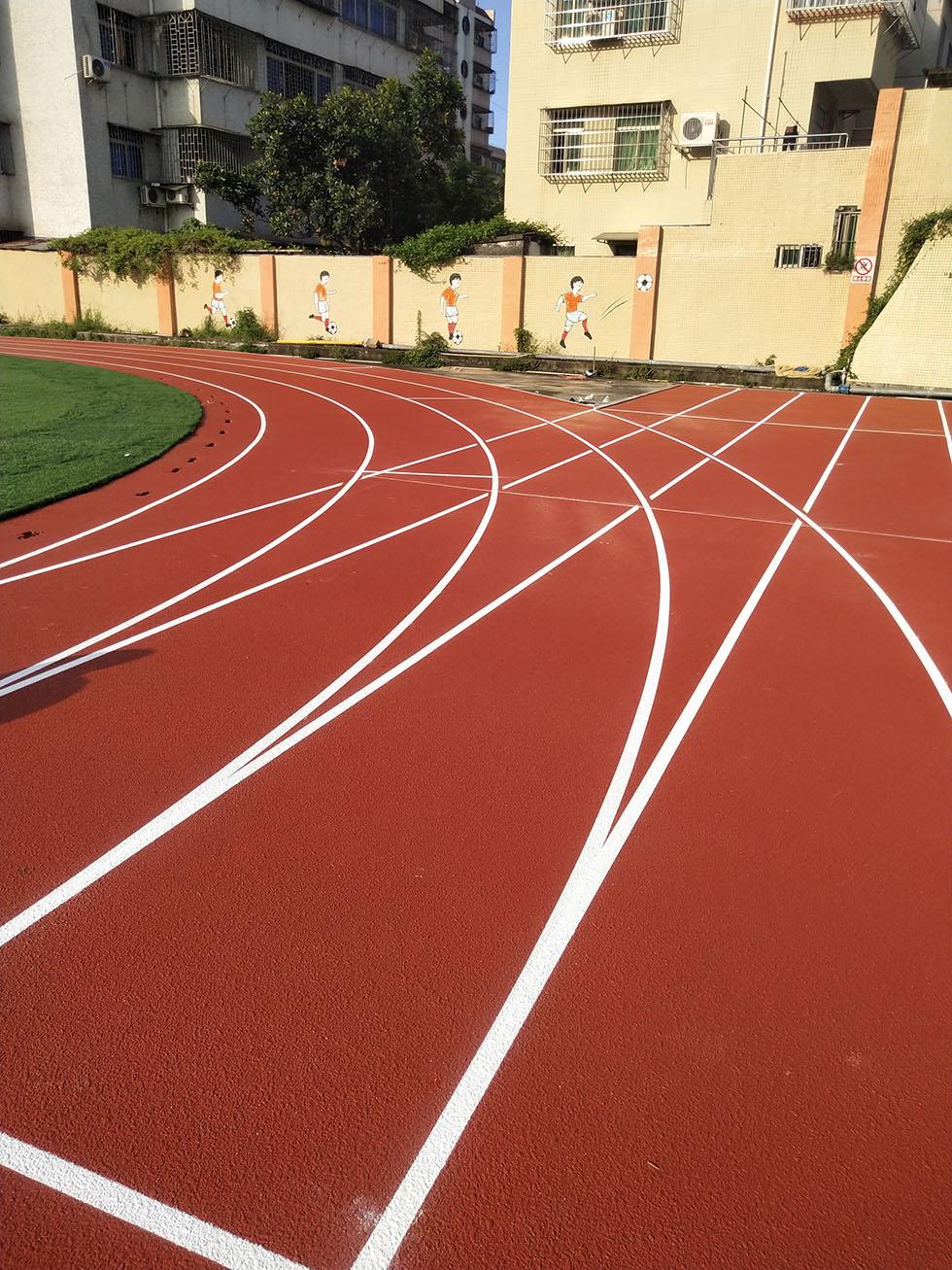 混合型学校塑胶跑道基础要求