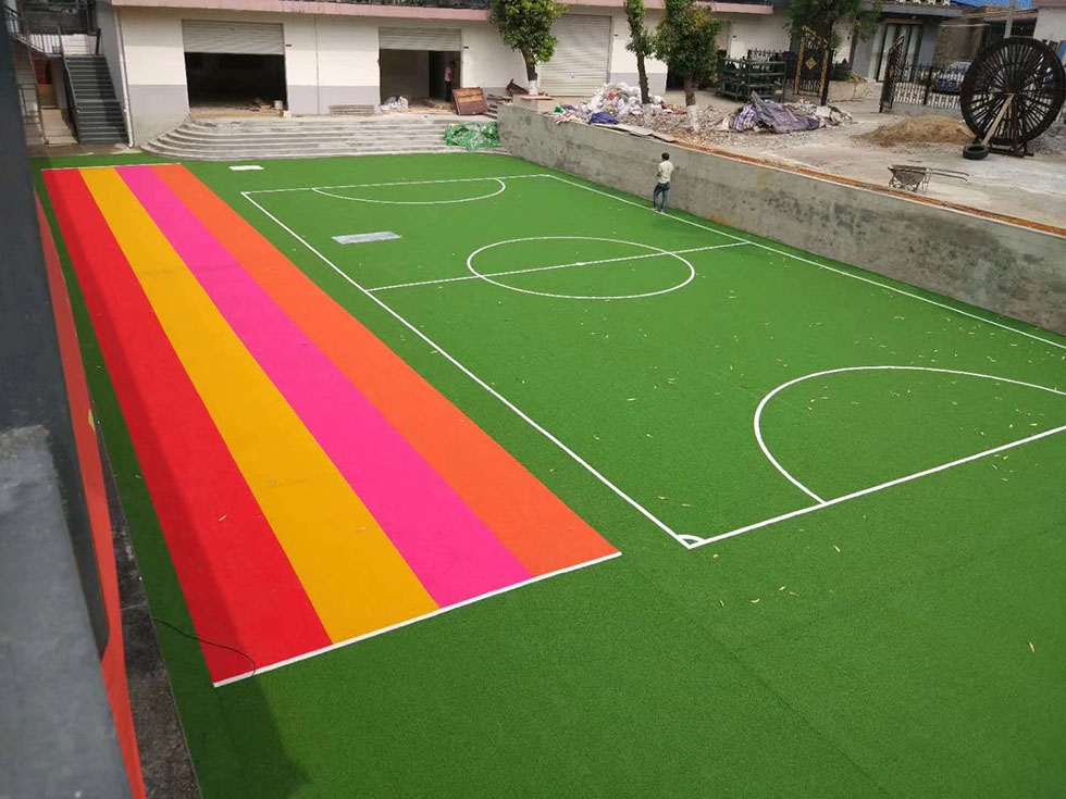 博罗拼装地板篮球场 广东声誉好的拼装地板厂商推荐