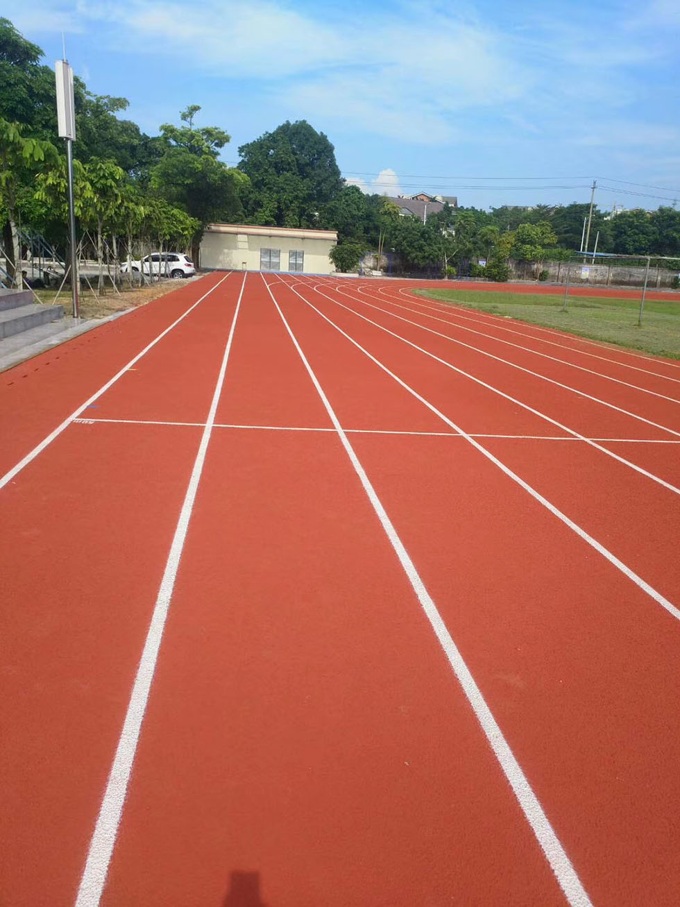 PU球场 丙烯酸球场运动 球场施工
