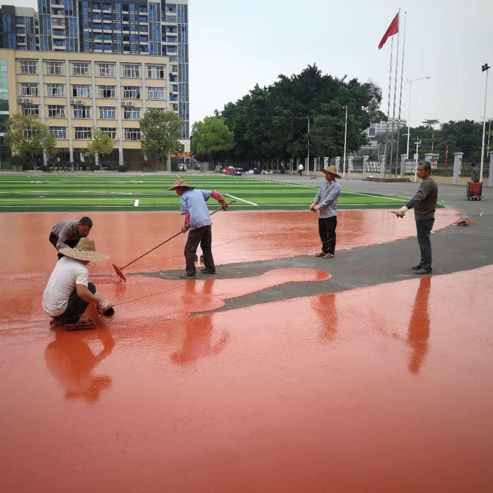 丙烯酸球场施工,弹性丙烯酸球场,丙烯酸篮球场,丙烯酸网球场