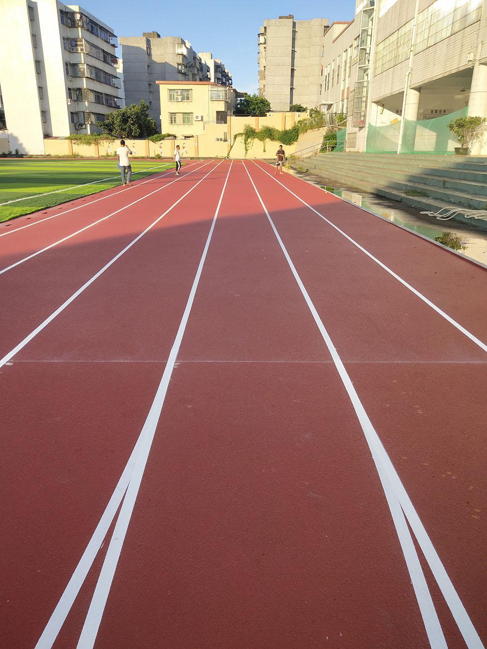 丙烯酸篮球场 学校塑胶跑道面层性价比的介绍