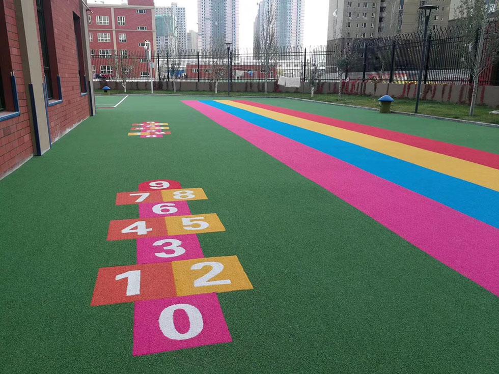 丙烯酸球场涂料成为国内外建筑涂料主角