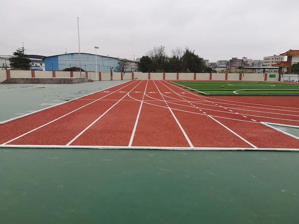丙烯酸球场工程施工大概要多长时间 奥宏体育