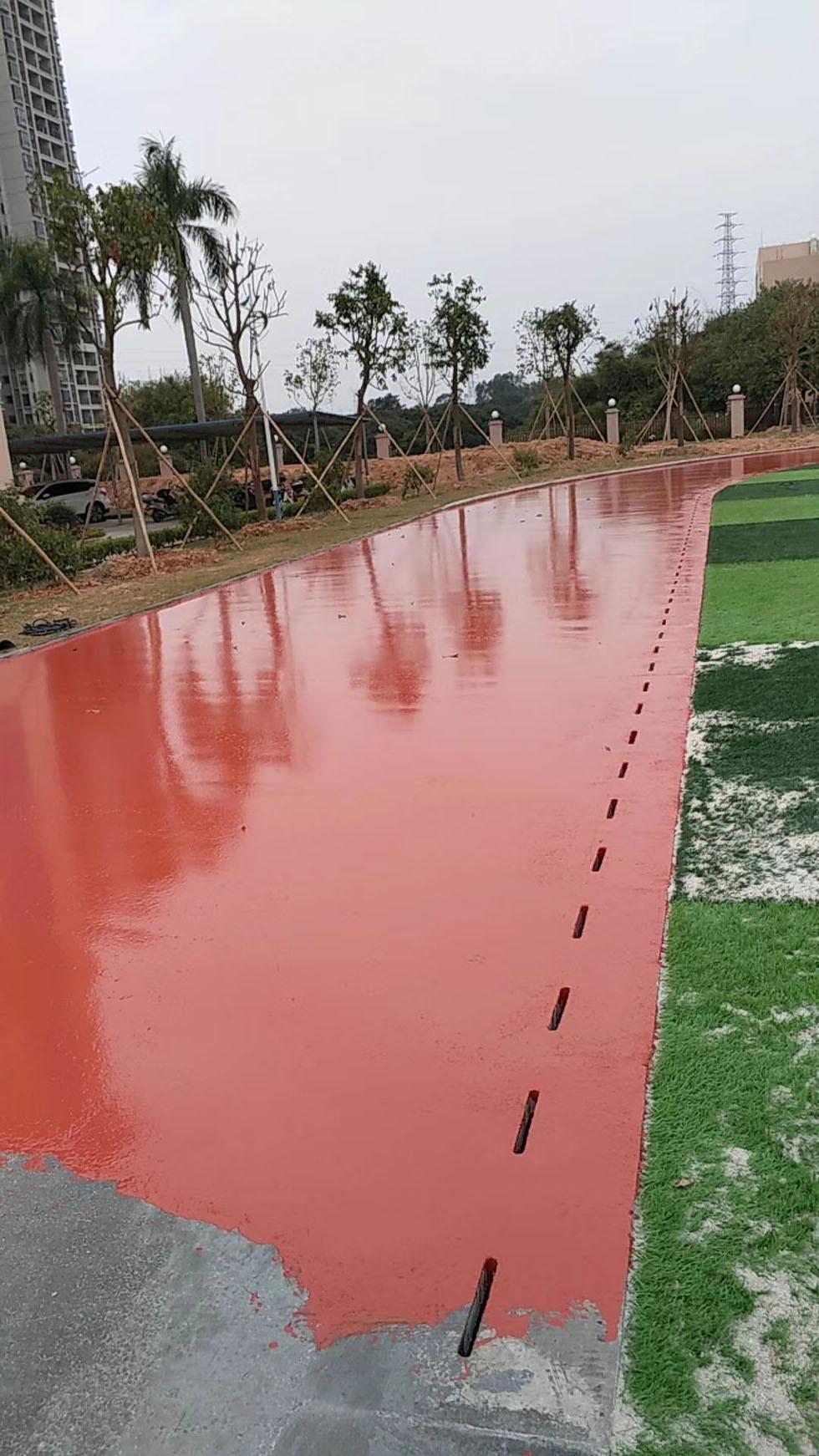 丙烯酸篮球场材料  浅谈硬地丙烯酸面层