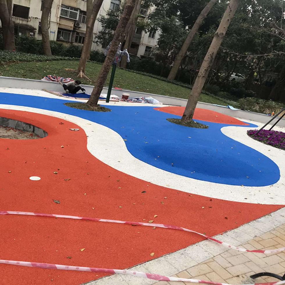 丙烯酸篮球场 硅PU球场基础填缝要注意的处理方法