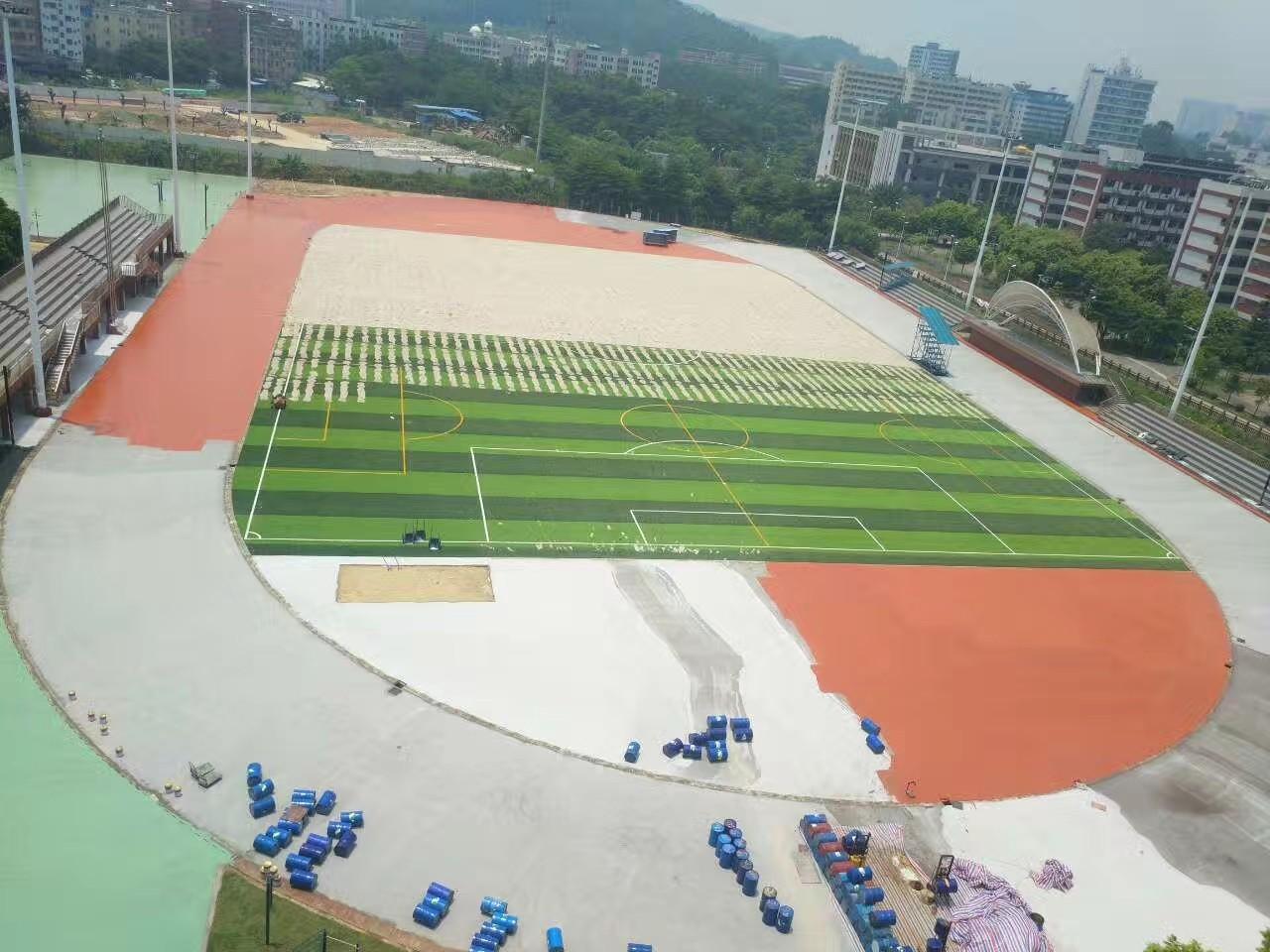 网球场施工 丙烯酸球场地坪类型的分类